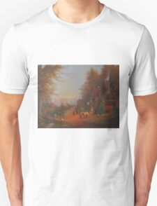 At The Sign Of The Prancing Pony.(An Encounter With Strider.) T-Shirt