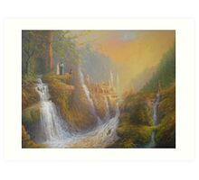 Rivendell.( Wisdom Of The Elves Art Print