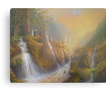 Rivendell.( Wisdom Of The Elves Metal Print