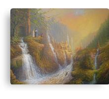 Rivendell.( Wisdom Of The Elves Canvas Print