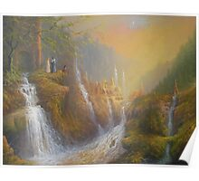 Rivendell.( Wisdom Of The Elves Poster