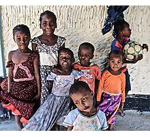 Crazy kids Photographic Print