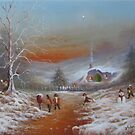 Snowballs In The Shire by Joe Gilronan