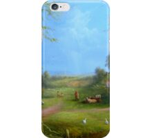 A Hobbits Adventure (late for an appointment) iPhone Case/Skin