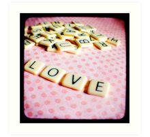 Love Letters Art Print