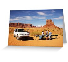 Monument Valley Trading Greeting Card
