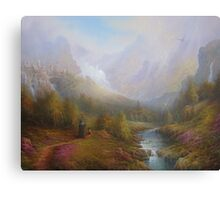 The Misty Mountains Canvas Print