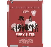 Fury's Ten iPad Case/Skin