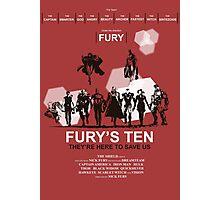 Fury's Ten Photographic Print