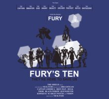 Fury's Ten by spiderkilla