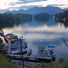 Lake Lure Sunset by Dennis Rubin IPA