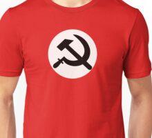 Hammer and sickle communist logo  Unisex T-Shirt