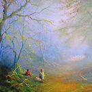 A Woodland Encounter by Joe Gilronan
