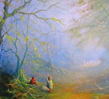 Sam's First Encounter With Wood Elves by Joe Gilronan