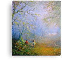 Sam's First Encounter With Wood Elves Canvas Print