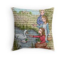 Jane Austen - Dashwood Girls Throw Pillow