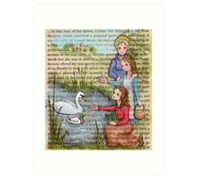 Jane Austen - Dashwood Girls Art Print