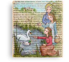 Jane Austen - Dashwood Girls Metal Print