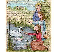 Jane Austen - Dashwood Girls Photographic Print