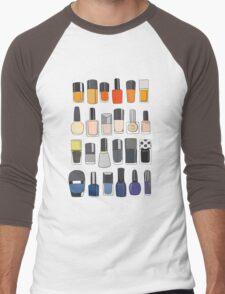 My nail polish collection Men's Baseball ¾ T-Shirt