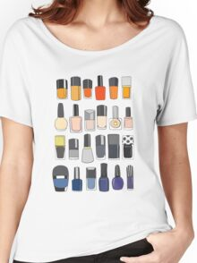 My nail polish collection Women's Relaxed Fit T-Shirt