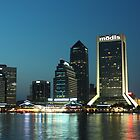 Downtown Jacksonville Florida by Joe Norman