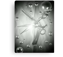 Spotlight Shears Canvas Print