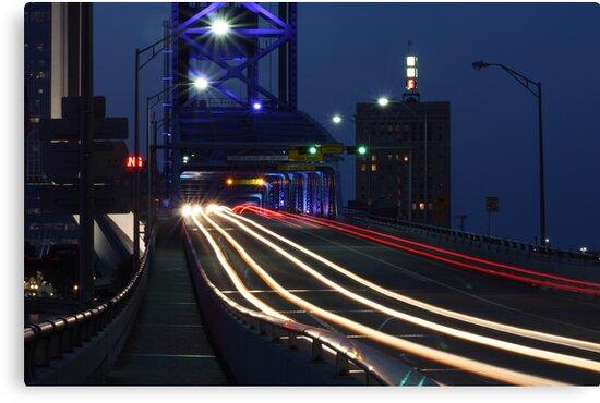 Night Traffic by Joe Norman