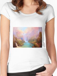 The River Great. Women's Fitted Scoop T-Shirt