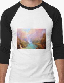 The Great River Men's Baseball ¾ T-Shirt