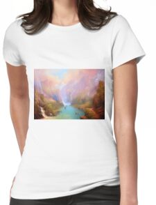 The River Great. Womens Fitted T-Shirt