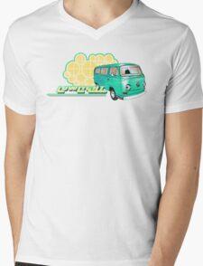 Volkswagen Kombi Tee shirt - Retro Lowlight Kombi Mens V-Neck T-Shirt