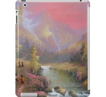 Hobbits Adventure (No Time For A Pipe) iPad Case/Skin