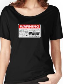 Volkswagen Kombi Tee shirt - WARNING! Women's Relaxed Fit T-Shirt