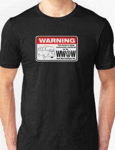 Volkswagen Kombi Tee shirt - WARNING! Unisex T-Shirt