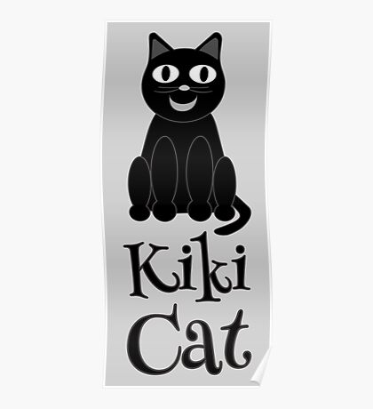 Kiki Cat  Poster