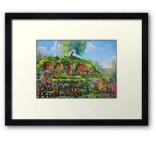 Summer In The Shire Framed Print