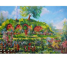 Summer In The Shire Photographic Print