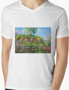 Summer In The Shire Mens V-Neck T-Shirt