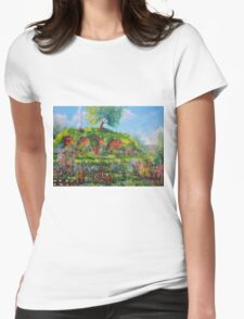 Summer In The Shire Womens Fitted T-Shirt