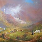 Minas Tirath (War Approaches) by Joe Gilronan