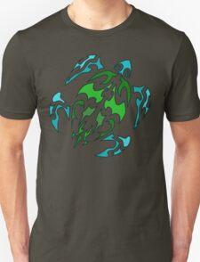 Green Shell Turtle T-Shirt