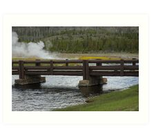 Bridge To The Geysers Art Print