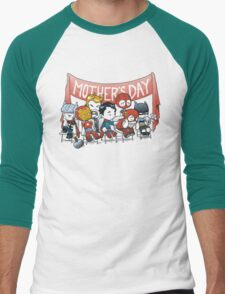 Happy Mother's Day! Men's Baseball ¾ T-Shirt