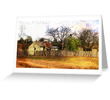 House at Hill End Greeting Card