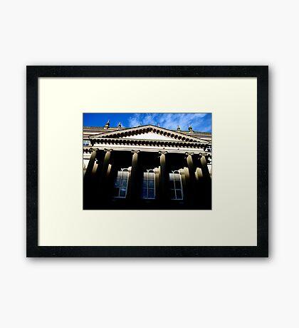 Osgoode Columns Framed Print