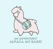Alpaca my bags! by laprasthebold