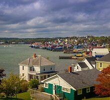 Lunenburg Harbour by mlphoto
