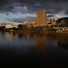 Torrens and Adelaide City by Topher Webb