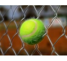 Electrified Fence Photographic Print